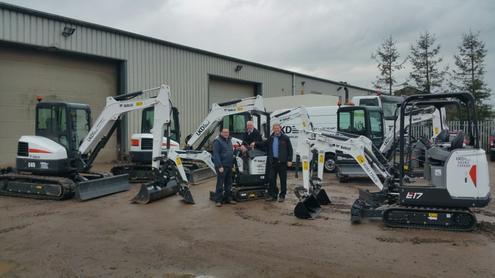 UKD Diggers Grows with New Bobcat Compact Excavators | Hub-4