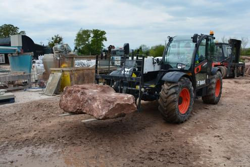 UK's First Bobcat TL38.70HF Telehandler for Quarry/Farm | Hub-4 on wire nut, wire sleeve, wire leads, wire ball, wire antenna, wire lamp, wire holder, wire cap, wire connector, wire clothing,