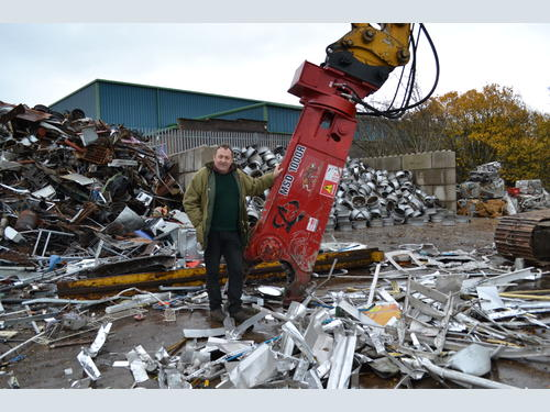 Carlisle Auto Salvage >> Michael Douglas Auto Salvage Invest In Labounty Scrap Shear