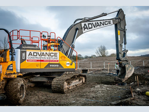 Another Volvo package for Advance Construction Scotland | Hub-4
